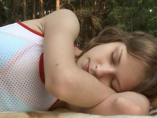 Outdoor Sleeping Teen