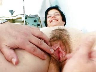 Old Barbora Love Tunnel Real Gyno Fetish...