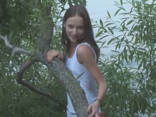 Amateur Outdoor Russian Teen
