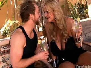 Busty Milf Babes Fuck An Incredibly Lucky Hubby