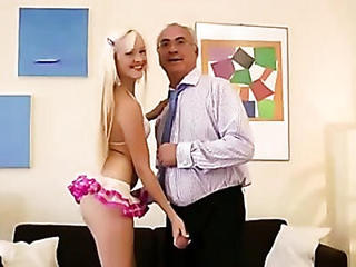 Classy Older Guy Teen Babe Suck And Fuck