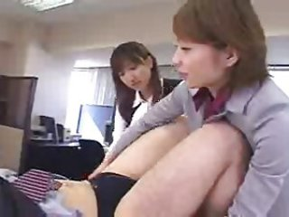 Asian Femdom Japanese  Office Secretary