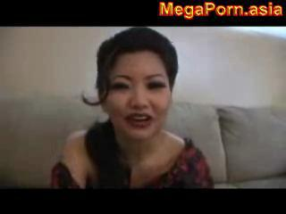 Cheating Asian House Wife Gets Nasty Facial...megapo...