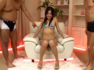 Asian Bikini Teen Threesome