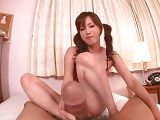 Cute Asian Girl- Foot and Blowjob