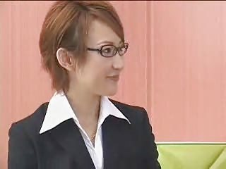 Asian Babe Glasses Japanese