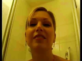 Perfect Lady In The Shower