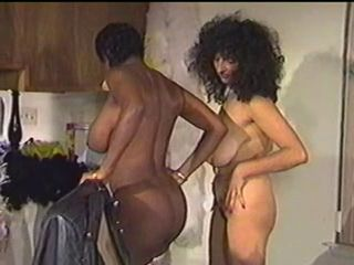 Mamelles Grosses Negreta Interracial Lesbiana   Vintage