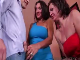 Handjob  Threesome