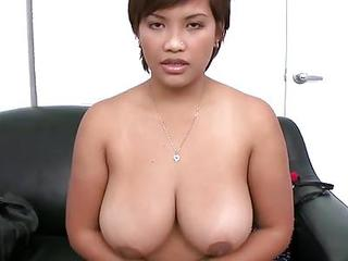 Amateur Latin Babe With Astonishing Large Tits