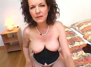 Mega Hairy Mom fuck young blackguardly man