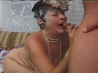 Naughty Granny Gets Her Old Cunt Banged