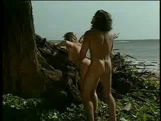 Anal Beach Doggystyle Outdoor Pornstar Vintage