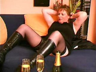 Drunk Mature Stockings