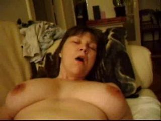 clumsy busty real orgasm 2...