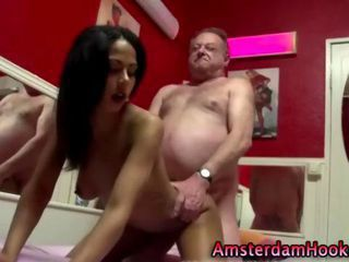Real european ebony hooker tu...