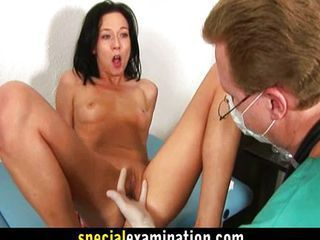Nasty gyno doctor obviously l...