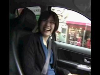 Amateur Asian Car Public Teen