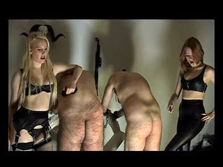 Slave caning...