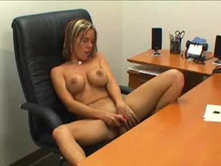 Office Secretary Silicone Tits