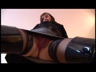 Thigh Disdainful Boots Stockings an...