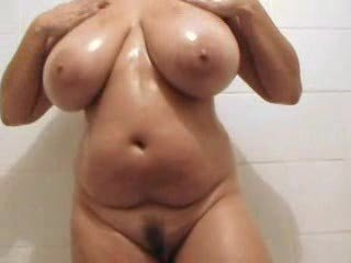 Bathroom Big Tits British European Hairy Mature Showers