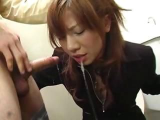 Aki Yatoh gets a rough face f...