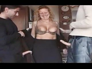 British European Mature Squirt Threesome