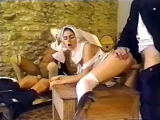 Clothed Groupsex Nun Uniform Vintage