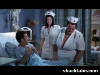 Nurse Threesome Uniform Vintage