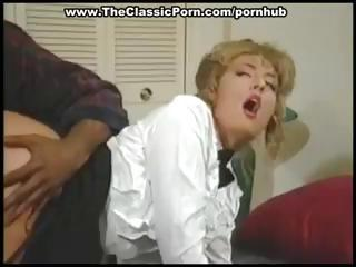 Blonde Maid Is Getting Her Ass Banged Hard by A Big Dismal Cock
