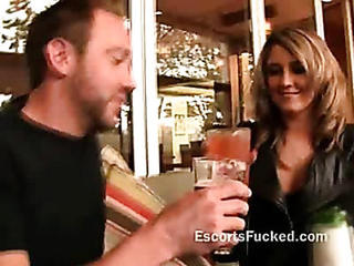 Blonde Hooker Taken To Hotel Gets Ready To Fuck