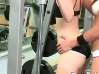 Gym Trainer And Her Student Pleasuring Each Fuckholes