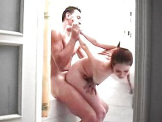 Amateur Bathroom Forced Hardcore Teen
