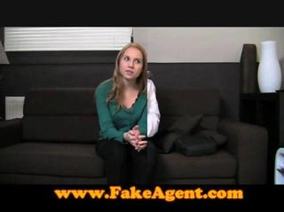 Fakeagent Innocent Teen In Casting Interview