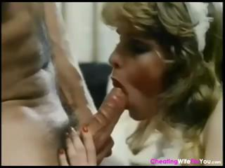 Classic Porn With Mom Coupled with Daughter Sharing One Hard Cock
