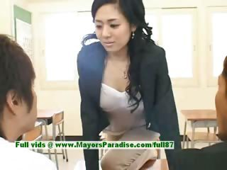 Amazing Asian Cute Japanese  Pornstar School Teacher