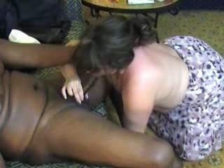 BBW wife on a black cock
