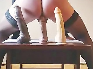 Big Ass Francois Ride A 8  10 And 12 Inches Dildo For You.