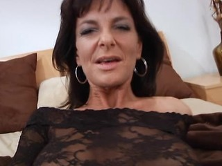 Hardcore Milf Gets Mouthful Of Jizz