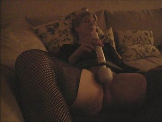 Amateur Homemade Masturbating  Orgasm Pantyhose Toy