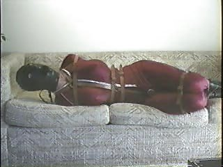 Bound Dress-up On A Couch