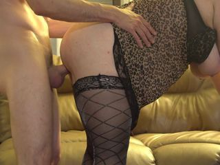 Amateur  Doggystyle   Stockings