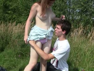 Amateur Girlfriend Outdoor Teen