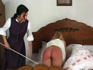 Spanked in Bed...