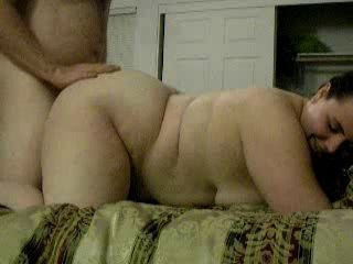 Rough Chubby Couple Sexual congress Together with C...