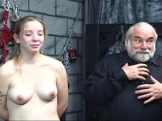 Bdsm Daddy Old and Young Slave