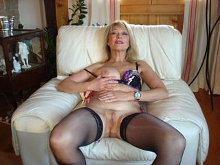 Hairy Mature Stockings