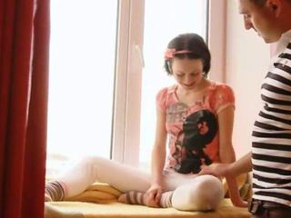 Submissive teenager sucking c...