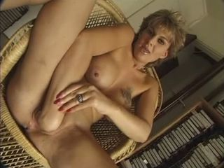 FRENCH MATURE n56 blonde anal...